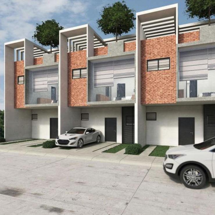 PROYECTO Arqcubo Arquitectos Casas ecológicas Concreto Blanco