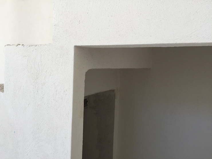 ESCALERAS Arqcubo Arquitectos Escaleras Concreto Blanco