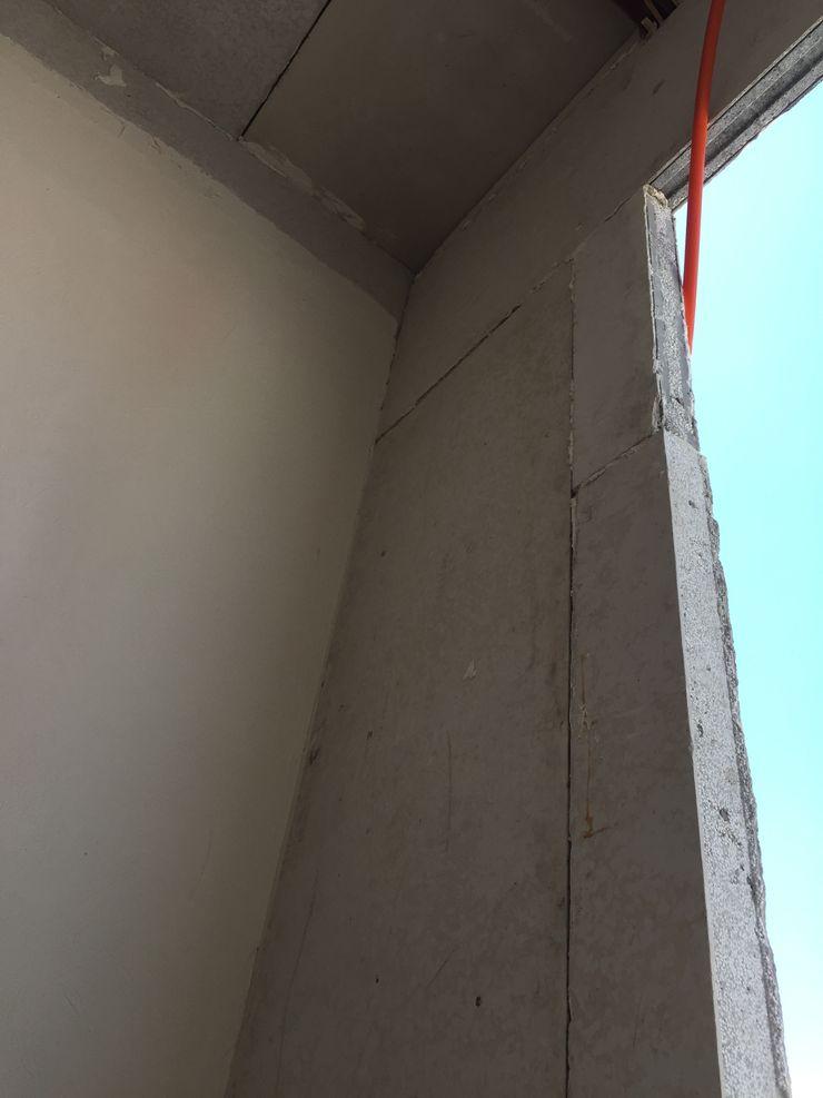 VANOS Arqcubo Arquitectos Puertas de vidrio Concreto Blanco