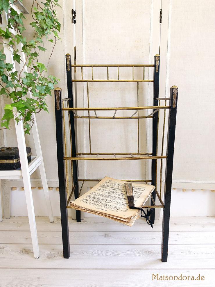 Maisondora Vintage Living BathroomStorage Wood Black