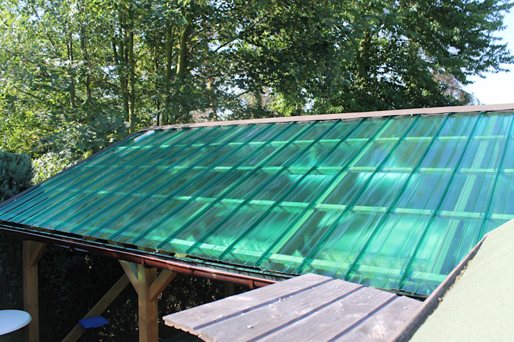 Il Giardino delle Idee Lean-to roof Plastic Green