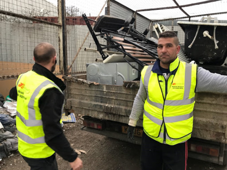 Junk Removal Man in London Express Waste Removals