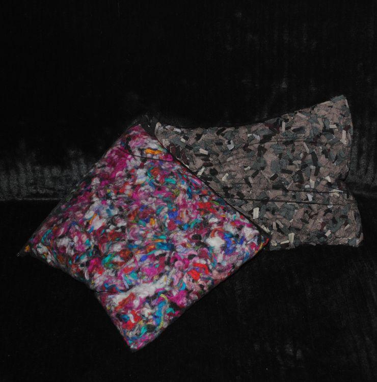 Pompón.Do | Conjunto de tul y lana Ana Salomé Branco ArteObjetos artísticos Lana Multicolor