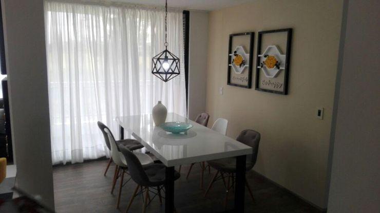 B-House by elvira Salas de jantar modernas