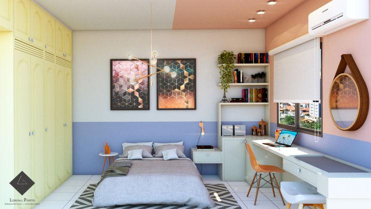 Lorena Porto - Arquitetura e Interiores Modern Bedroom