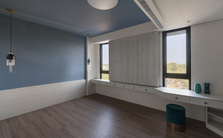 肯星室內設計 Classic style bedroom