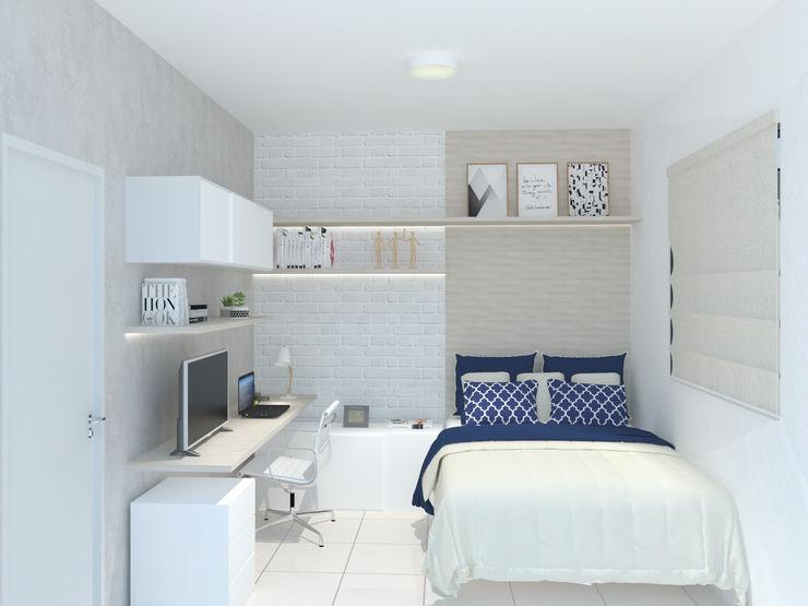 202 Arquitetura Small bedroom