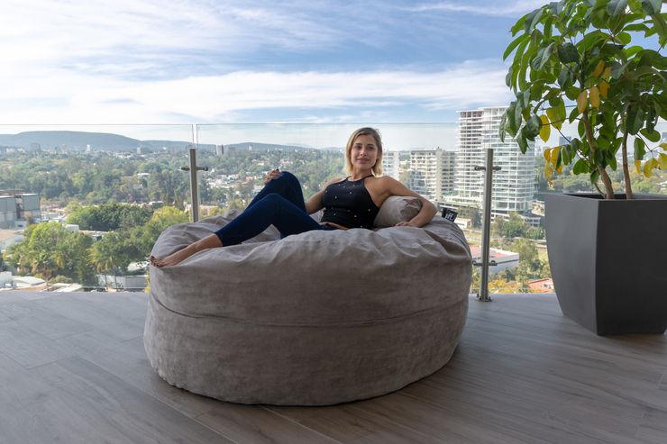 Life Style Puff MX Hoteles de estilo moderno Gris