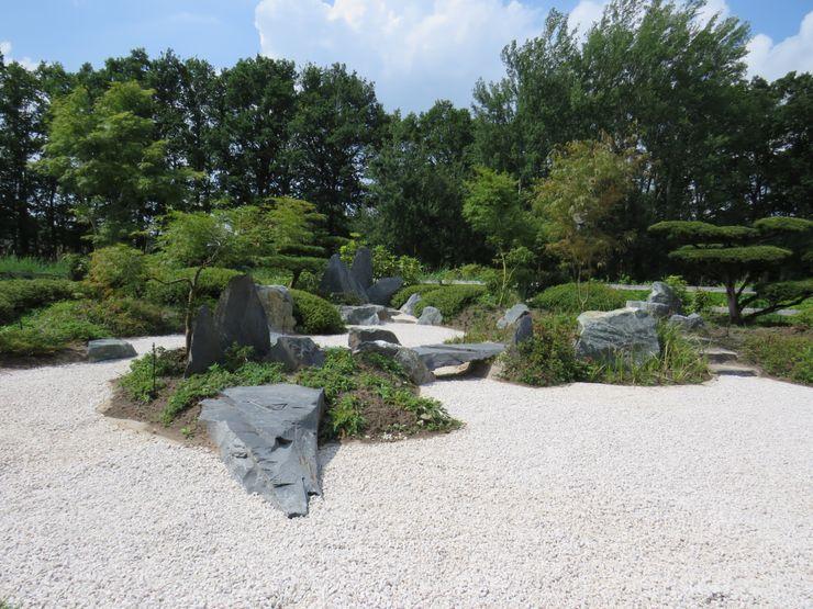 KARESANSUI - IM ZEN Stil Kokeniwa Japanische Gartengestaltung Asiatischer Garten
