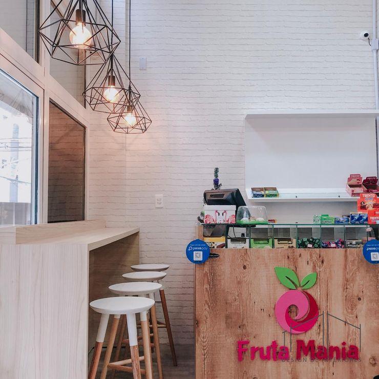 PROJETO COMERCIAL INN Design de Interiores Espaços gastronômicos modernos