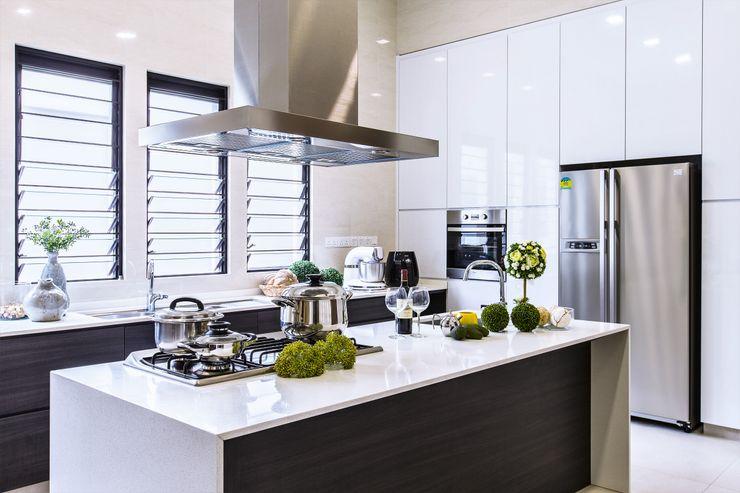 Trevose Crescent Summerhaus D'zign Modern kitchen
