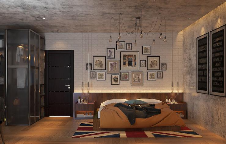 Norm designhaus Dormitorios de estilo clásico