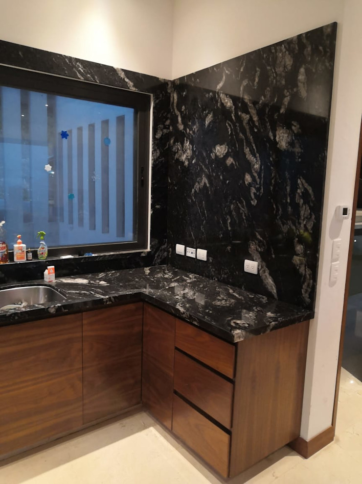 JAV_ARQUITECTOS KitchenBench tops Granite Black