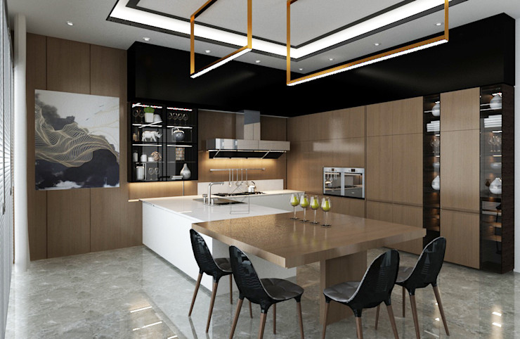 Loop Projects Кухня в стиле модерн