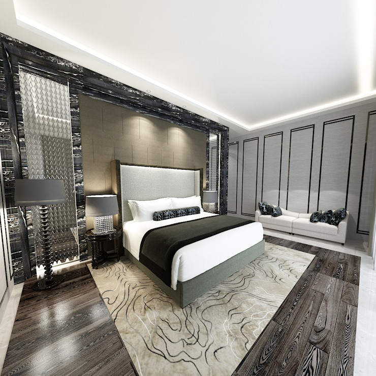 Loop Projects Спальня в стиле модерн