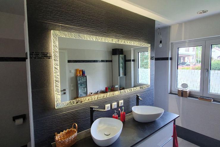 Laser LED Badspiegel Alexander Badspiegel Moderne Badezimmer