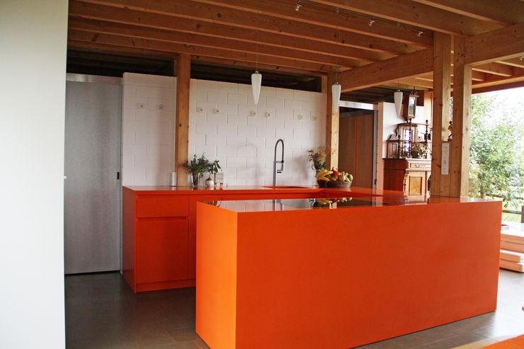 Corian Küche Beer GmbH Einbauküche Orange
