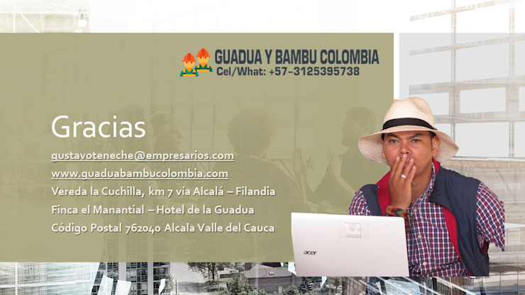 GUADUA Y BAMBU COLOMBIA Landhaus