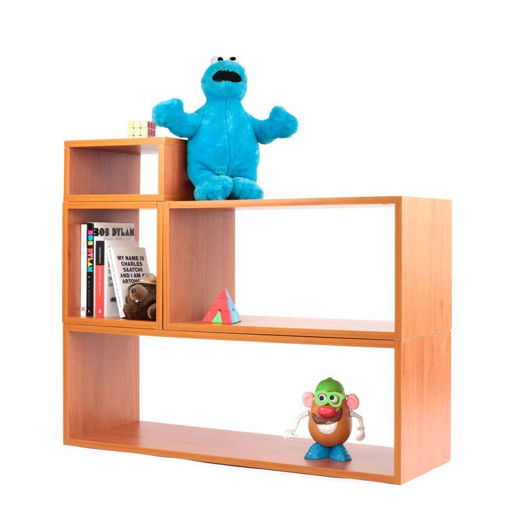 Juguetero TUS MUEBLES MODULARES Habitaciones infantilesAccesorios y decoración Aglomerado Acabado en madera