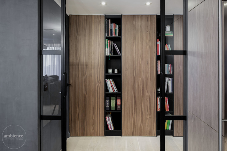 Ambience. Interior Design Couloir, entrée, escaliers modernes