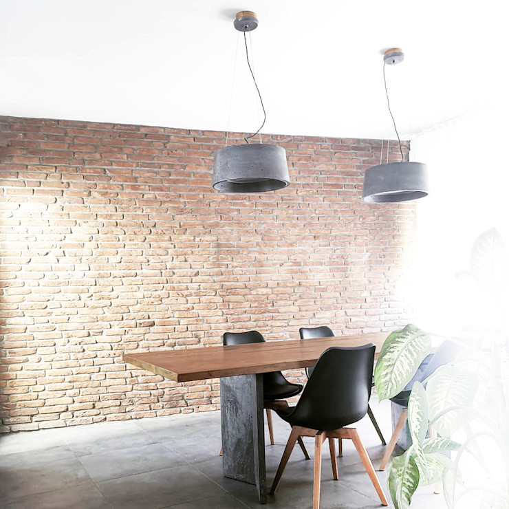 Wohnbereich Beton fattoAmano Moderne Esszimmer Beton