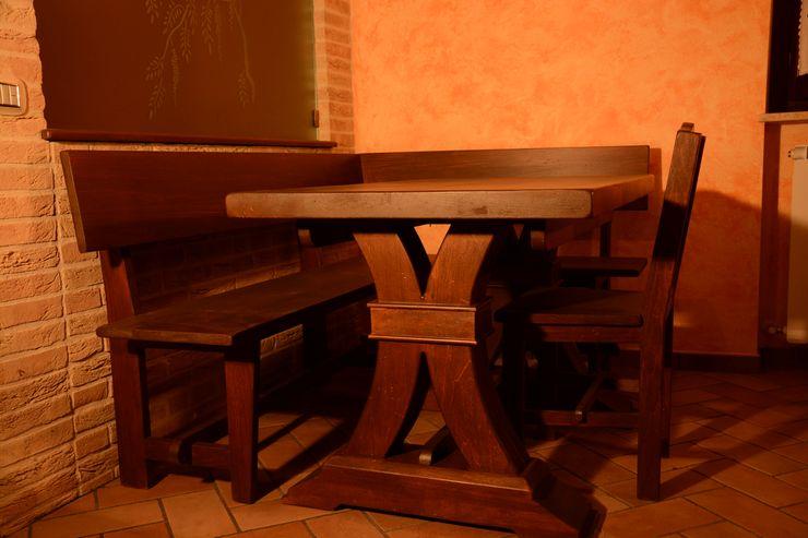 cucina rustica murata il falegname di Diego Storani Cucina attrezzata