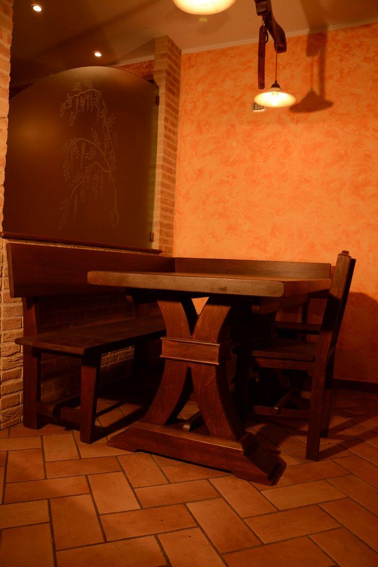 cucina rustica murata il falegname di Diego Storani CucinaTavoli & Sedie