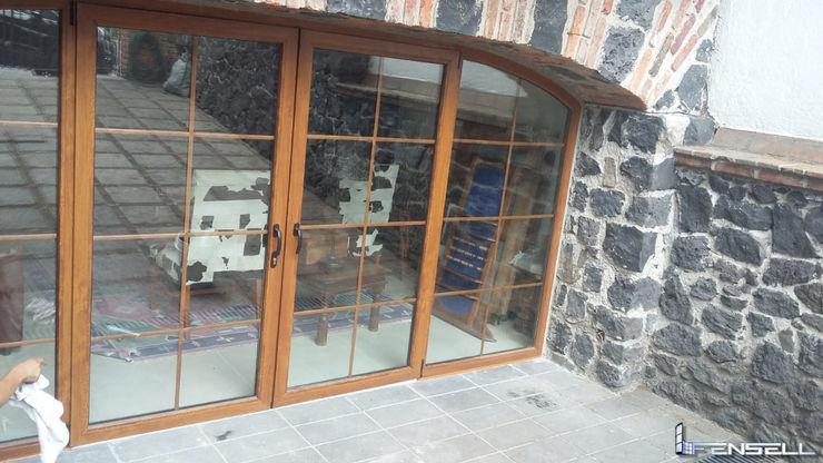 FENSELL Windows & doors Doors Plastic Amber/Gold