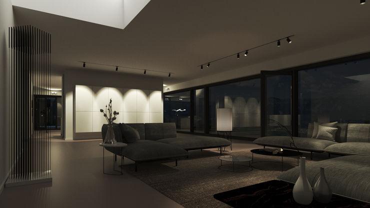 Karl Kaffenberger Architektur   Einrichtung Salon moderne