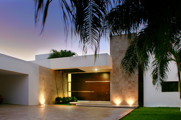 Casa JJ AGA Arquitectura & Construcción Casas modernas
