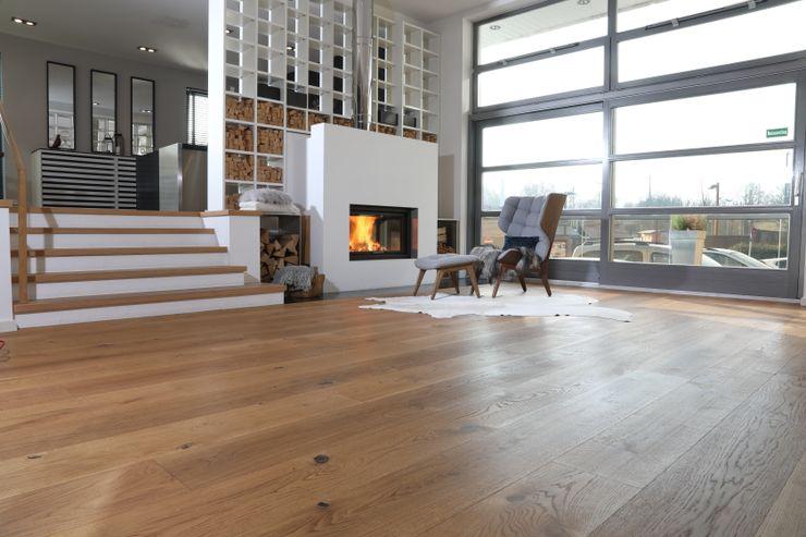 Unsere Ausstellung in Essen-Steele Parkett Strehl GmbH Boden Holz