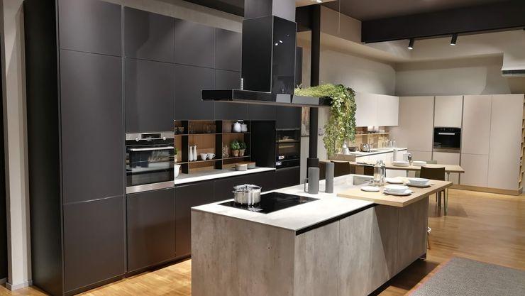 Stosa Cucine - modello Aliant Formarredo Due design 1967 Cucina attrezzata Nero