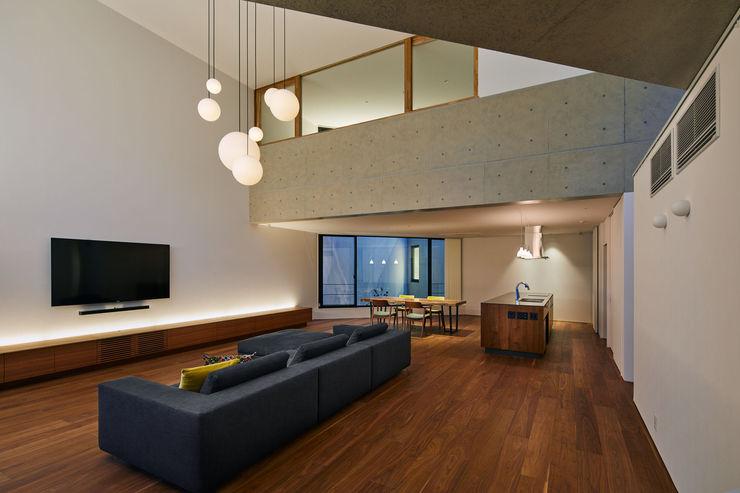 向山建築設計事務所 Modern living room
