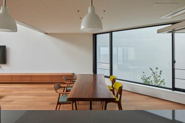 向山建築設計事務所 Modern dining room