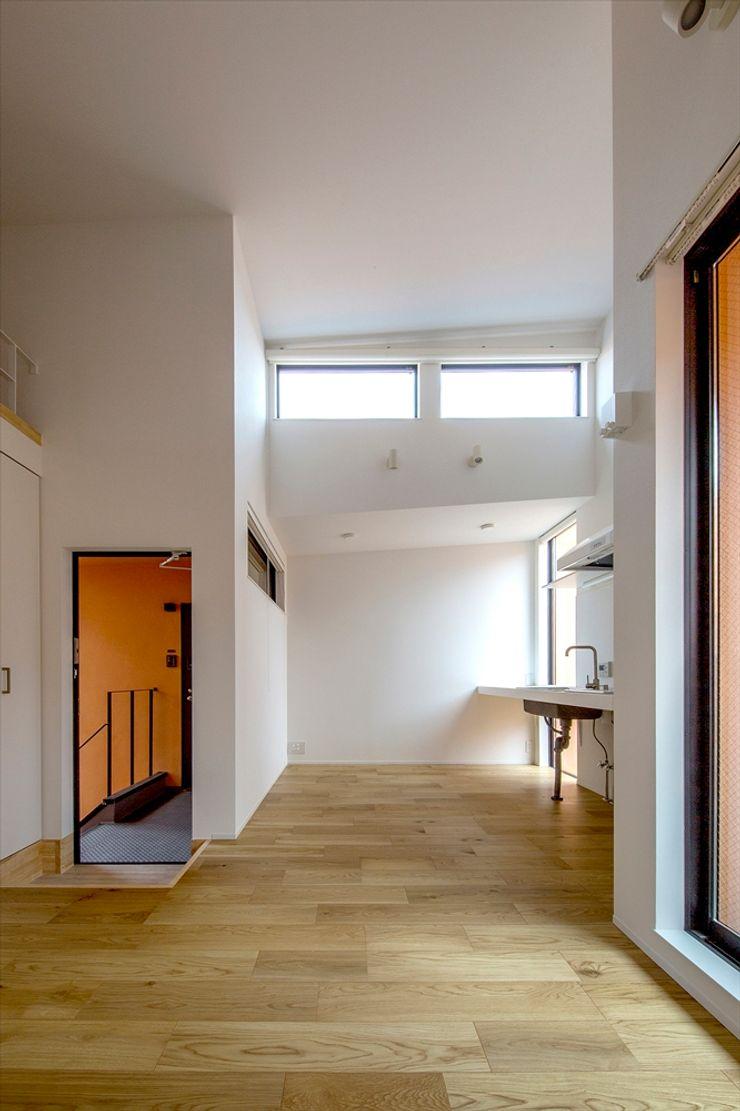向山建築設計事務所 Mediterranean style living room