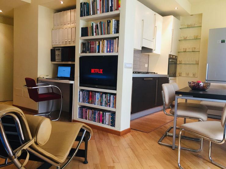 Soggiorno Feng Shui Studio di Architettura, Interni e Design Feng Shui Soggiorno minimalista Legno Beige