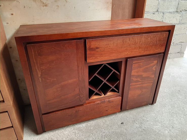 muebles GC Dining roomWine racks Solid Wood Wood effect