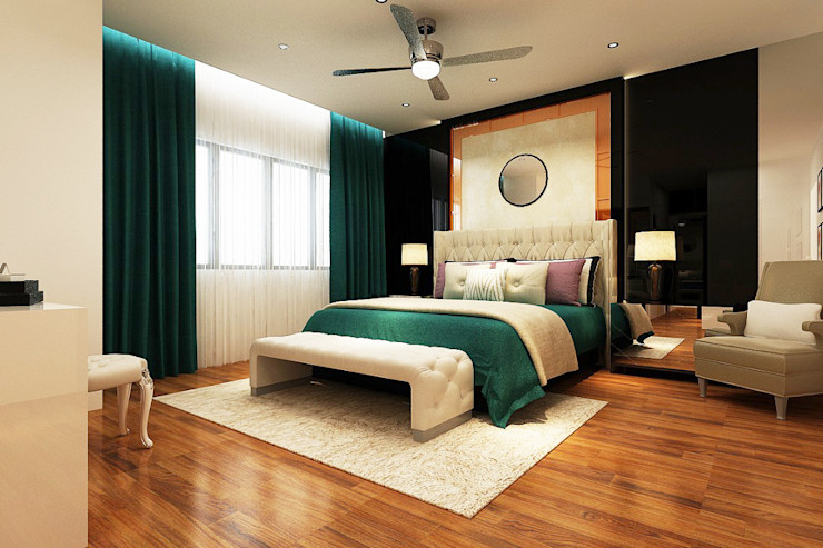 Enviz Interior & Renovation Dormitorios de estilo moderno