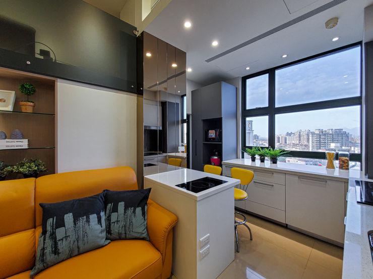 吧台 你你空間設計 小廚房