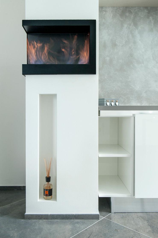Mighty House Luca Bucciantini Architettura d' interni Soggiorno minimalista Legno Bianco
