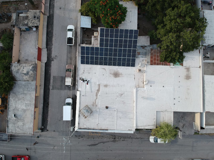 KB Solar オフィススペース&店 アルミニウム/亜鉛 灰色