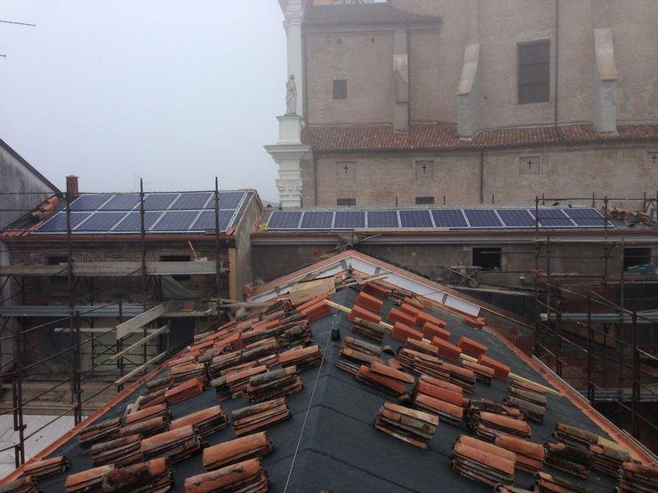 Studio di Architettura Massimiliano Furini Gable roof Bricks Red
