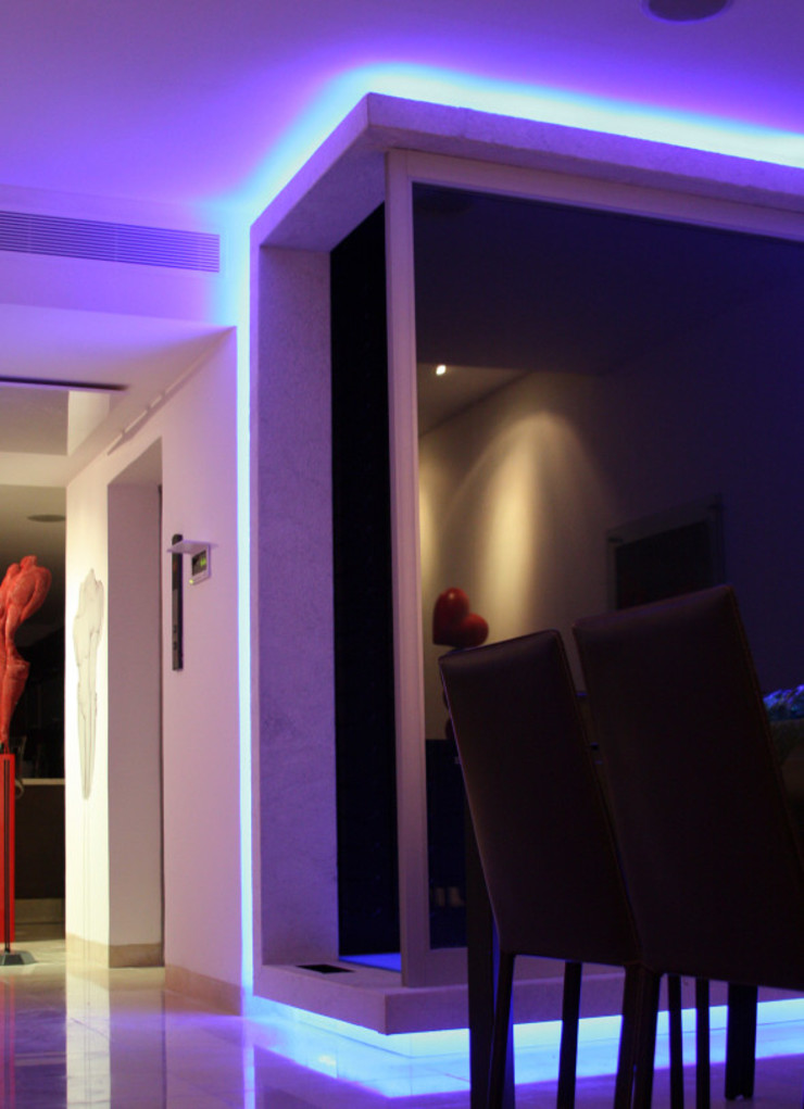 Daniel Cota Arquitectura | Despacho de arquitectos | Cancún Modern Home Wine Cellar