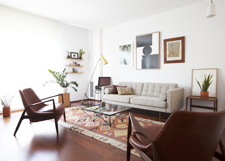 A&B Curated Living roomSofas & armchairs