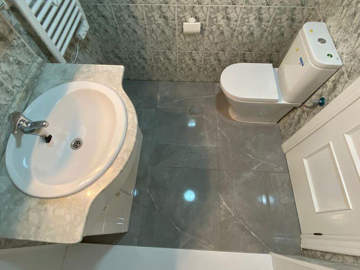 Deco Bosch Klasyczna łazienka Ceramiczny Szary