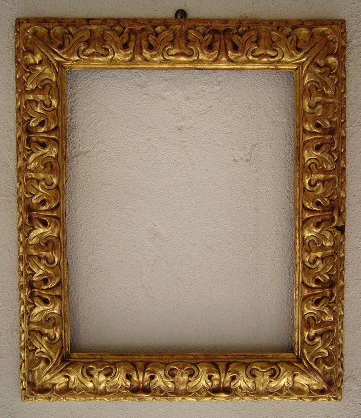 Cornice bolognese secolo XXVI° Studio d'arte Maurizio Colasante ArteAltri oggetti d'arte Legno