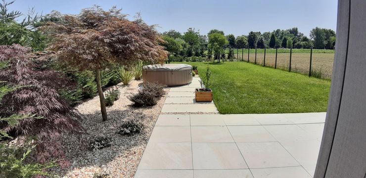 Mattia Boldrin Garden Design Підлоги Плитки Бежевий