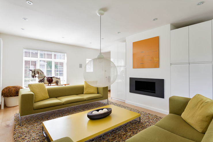 House Renovation and Extension Tenterden Kent STUDIO 9010 Modern living room