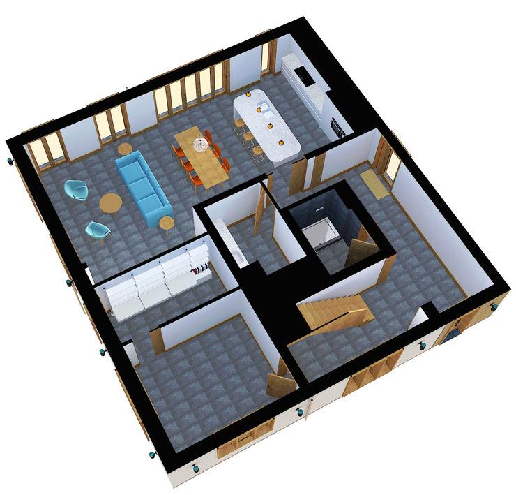 House Refurbishment and Extension Ashford STUDIO 9010 Modern living room