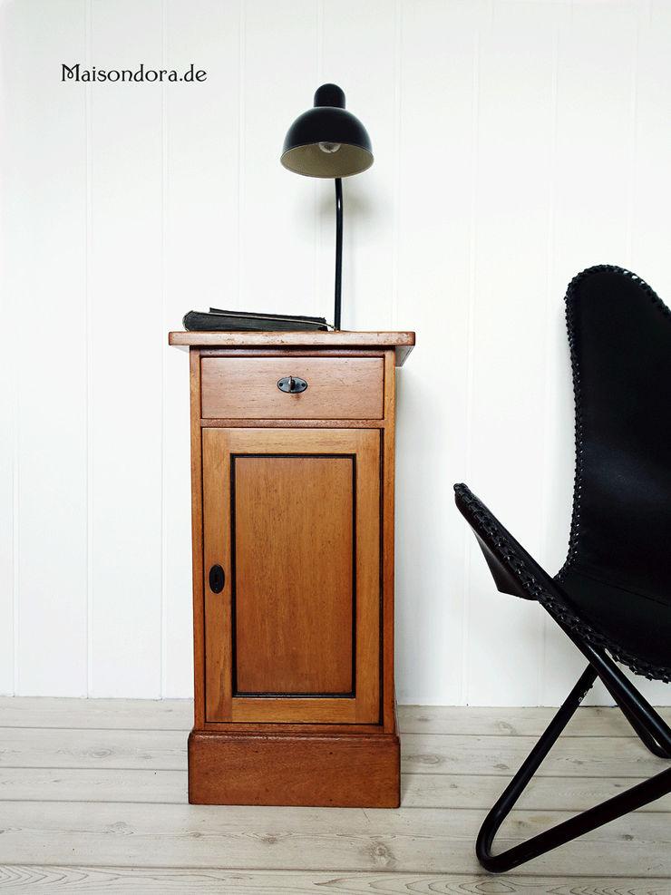 Maisondora Vintage Living Study/officeCupboards & shelving Wood Brown